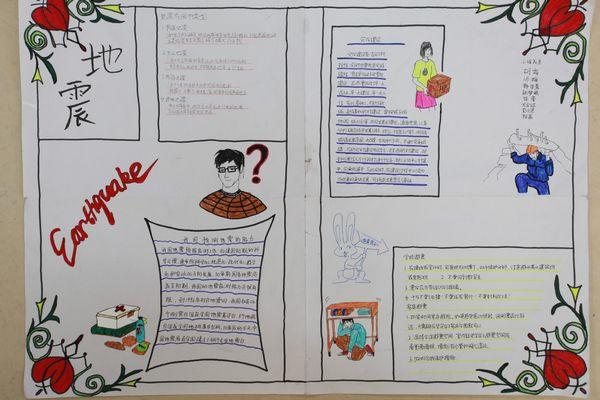 沙市中学首届科技节 灾害救援知识宣传手抄报和灾害救援演习方案设计 湖北省沙市中学 教学管理