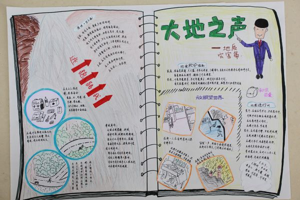 技节 灾害救援知识宣传手抄报和灾害救援演习方案设计 湖北省沙市中